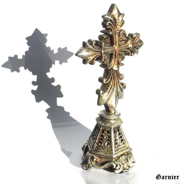 クロス 十字架 置物 デコレーション オブジェ オーナメント 飾り アンティーク バロック調 装飾 ロココ調 Sサイズ|gnb-garnier|08