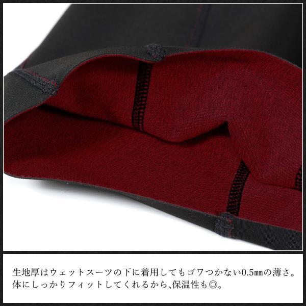 12/16 23:59まで MAX80%OFFセール! ショートジョン 保温インナー サーフィン 日本規格 裏起毛 インナー ウェットスーツ 0.5mm FELLOW go-island 06