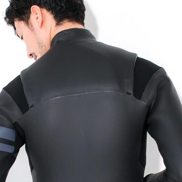 ウェットスーツ セミドライチェストジップ メンズ FELLOW 5×3mm スキン 冬用 サーフィン JPSA 大きいサイズ go-island 14