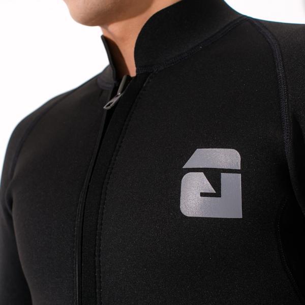 【全品10%OFF! 7/13 23:59まで】タッパー ウェットスーツ メンズ 2.5mm タッパ サーフィン ウエットスーツ 日本規格 SUP ダイビング go-island 03
