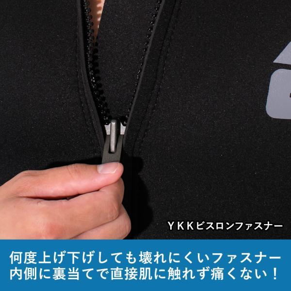 【全品10%OFF! 7/13 23:59まで】タッパー ウェットスーツ メンズ 2.5mm タッパ サーフィン ウエットスーツ 日本規格 SUP ダイビング go-island 08