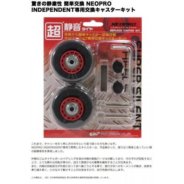NEOPRO REDZONE シリーズ専用交換タイヤキット  (予備タイヤ キャリーバッグ キャリーケース 機内持ち込み)