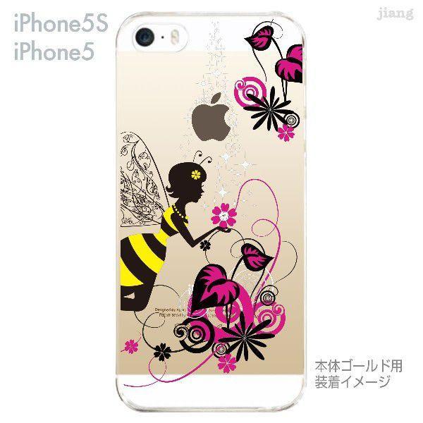 iPhone SE iPhone5s iPhone5 ケース カバー スマホケース クリアケース Clear Arts 花と妖精 天使 フェアリー 01-ip5s-zes018|gochumon|02