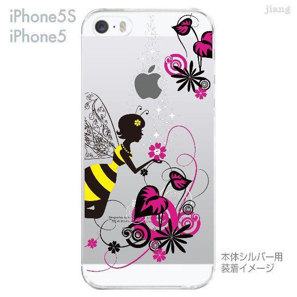iPhone SE iPhone5s iPhone5 ケース カバー スマホケース クリアケース Clear Arts 花と妖精 天使 フェアリー 01-ip5s-zes018|gochumon|03