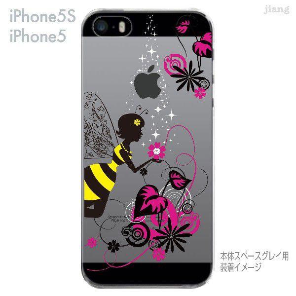 iPhone SE iPhone5s iPhone5 ケース カバー スマホケース クリアケース Clear Arts 花と妖精 天使 フェアリー 01-ip5s-zes018|gochumon|04