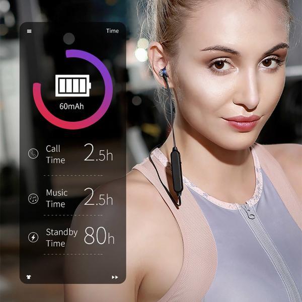 Bluetooth ワイヤレスイヤホン スポーツイヤホン ハンズフリー ワイヤレス イヤホン ランニング  Bluetooth アウトレット ボロフォン BOROFONE borofone-be11|gochumon|10