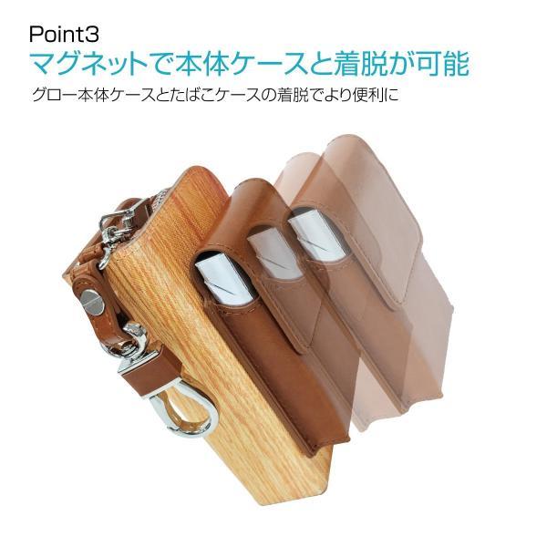 グロー ケース 電子タバコ グローケース カバー glo グロー ケース gloケース puレザー レザー おいしい牛乳 gl02-010 gochumon 17