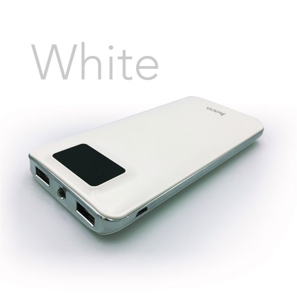 モバイルバッテリー 10000mAh 大容量 軽量 iPhone8 plus iPhone android スマホ 充電器 モバイル バッテリー アウトレット hoco hoco-bt01|gochumon|10