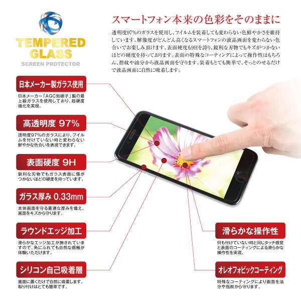 送料無料 保護フィルム 強化 ガラスフィルム iPhone8 iPhoneX  iPhone7 iPhone7 Plus iPhone SE iPhone6s iPhone6 Plus Xperia Z5 SO-03H SO-02H hogo-01|gochumon|03