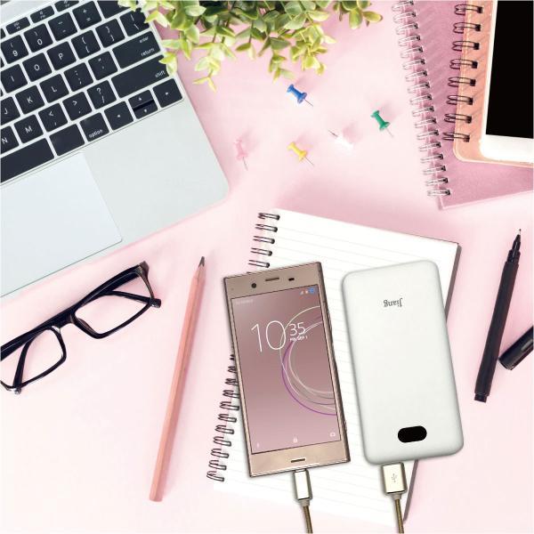 モバイルバッテリー 10000mAh 大容量 軽量 液晶残量表示付 iPhoneXS iPhone android スマートフォン モバイル バッテリー jiang-bt03|gochumon|02