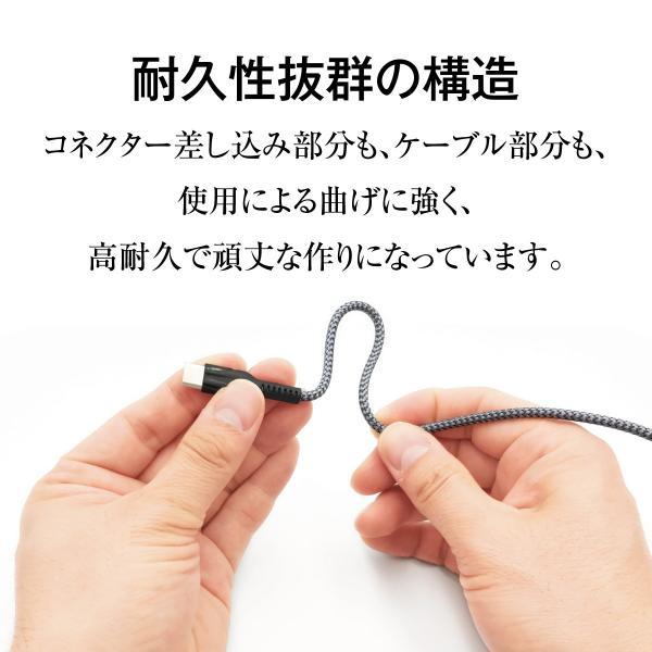 ACアダプター Type-C タイプC USB 充電器 type c 急速 3A Type-Cケーブル付 ACアダプタ 2ポート usb 2口 4.8A  typec USB充電器 アダプター  jiang-tpc-set|gochumon|06