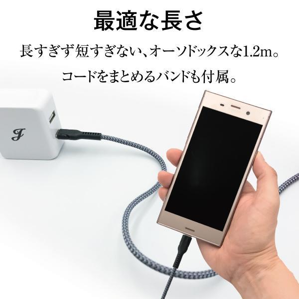 ACアダプター Type-C タイプC USB 充電器 type c 急速 3A Type-Cケーブル付 ACアダプタ 2ポート usb 2口 4.8A  typec USB充電器 アダプター  jiang-tpc-set|gochumon|08