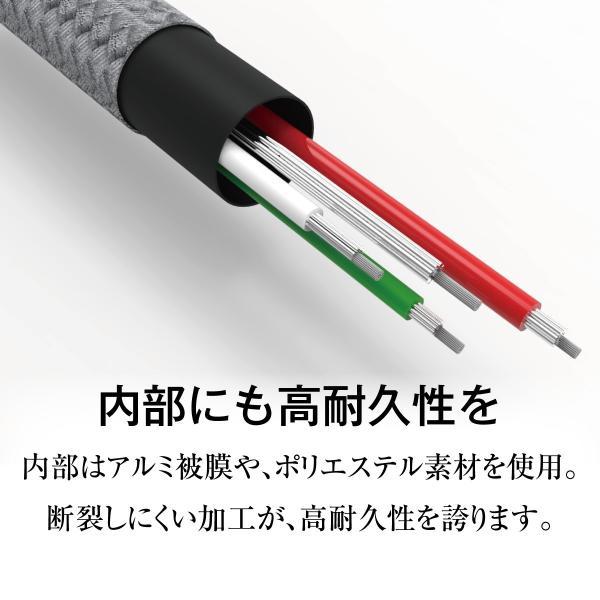 Type-C ケーブル 3A USB type-c タイプC ケーブル 両側 充電器 変換アダプタ ハブ 急速充電 3a 30cm 120cm 180cm switch スイッチ jiang-typec01|gochumon|06