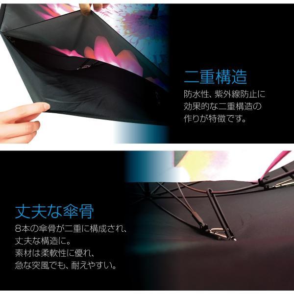 逆さま 傘 逆さ傘 さかさま傘 逆さま傘 ワンタッチ 日傘 UVカット kasa-02|gochumon|09