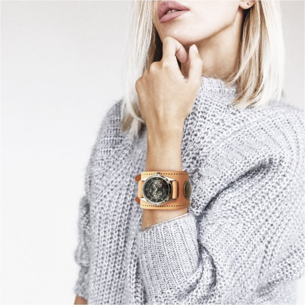 腕時計 メンズ レディース 本革 革 レザー KC,s ケーシーズ ケイシイズ ダブルバックル レザーブレスレット ksr527