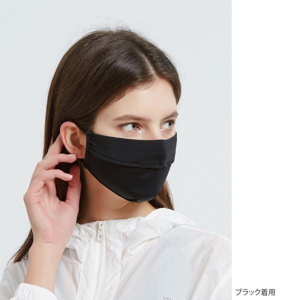 冷感 マスク ひんやり 3枚セット 夏マスク 接触冷感 生地 夏 涼しい UVカット 立体 男女 ホワイト 白 mask-cool|gochumon|10
