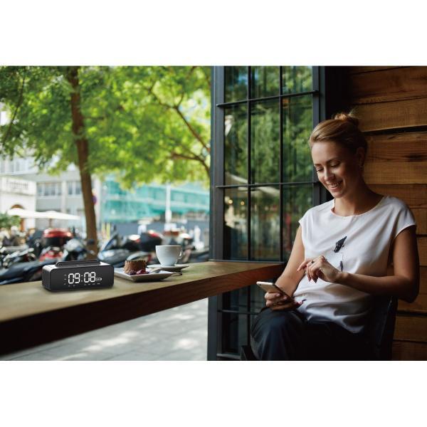 ワイヤレススピーカー Bluetooth スピーカー ワイヤレス 時計 スマートフォン おしゃれ 高音質 映画 ブルートゥース iPhone android 対応 oneder oneder-v06 gochumon 12