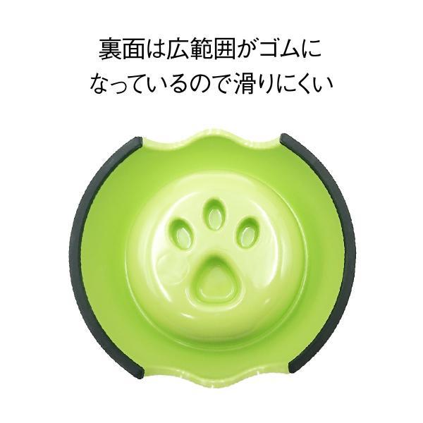 ペット フードボウル 早食い防止 犬 猫 食器 肉球 ペット用品 ペットフードボウル スベリ止め pet-b|gochumon|06