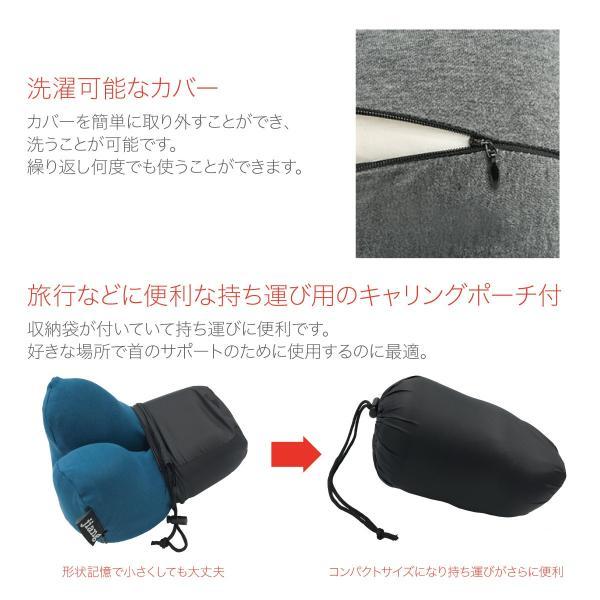 低反発 クッション ネックピロー 飛行機 トラベル ピロ− ネック エラー お昼寝 まくら 枕 マット かわいい pillow-01|gochumon|12