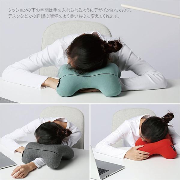 低反発 クッション ネックピロー 飛行機 トラベル ピロ− ネック エラー お昼寝 まくら 枕 マット かわいい pillow-01|gochumon|03