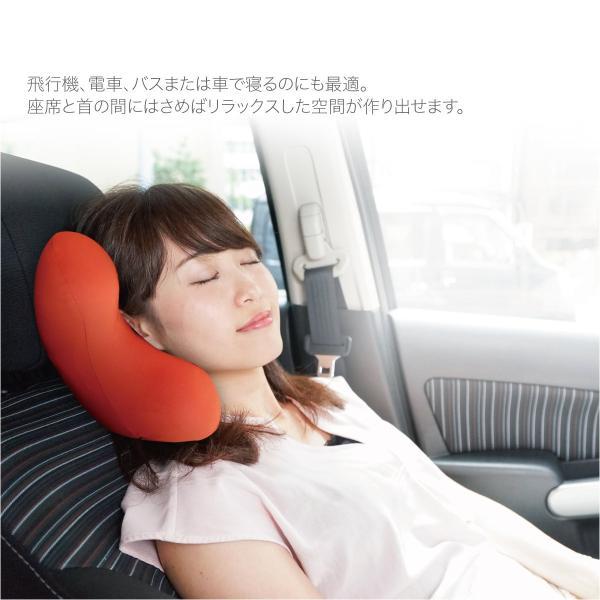 低反発 クッション ネックピロー 飛行機 トラベル ピロ− ネック エラー お昼寝 まくら 枕 マット かわいい pillow-01|gochumon|08