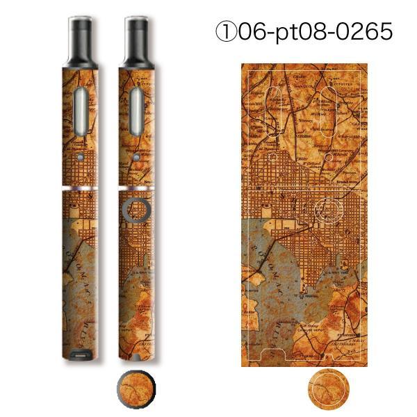 プルームテックプラス シール プルームテック プラス ケース スキンシール カバー 本体 Ploom Tech Plus シール 電子タバコ World Map pt08-008 gochumon 07