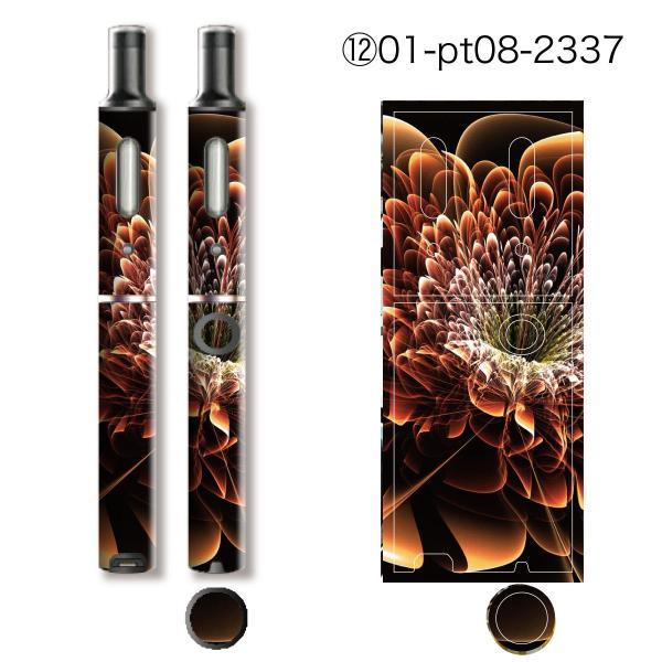 プルームテックプラス シール プルームテック プラス ケース スキンシール カバー 本体 Ploom Tech Plus シール 電子タバコ 大人ゴージャス pt08-024|gochumon|18