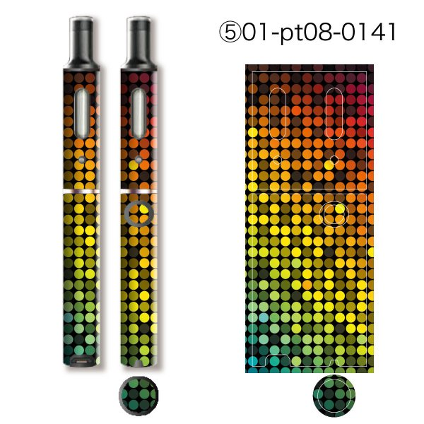 プルームテックプラス シール プルームテック プラス ケース スキンシール カバー 本体 Ploom Tech Plus シール 電子タバコ 大人ゴージャス pt08-025 gochumon 11