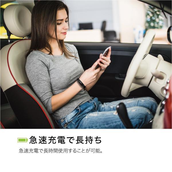 スマートウォッチ iphone 対応 android 対応 line 血圧 防水 日本語 血圧測定 心拍計 歩数計 IP67防水 スマートブレスレット レディース メンズ sb-y11|gochumon|16