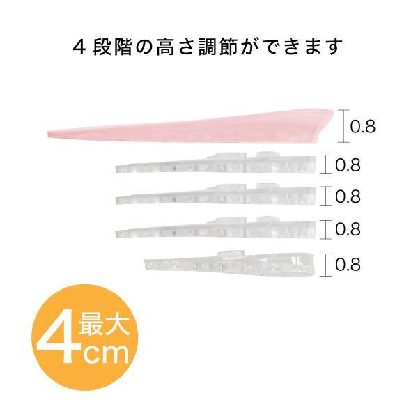 シークレットインソール 4cmアップ シリコン 靴 スニーカー ブーツ 美脚効果 疲労軽減 secret-02|gochumon|03