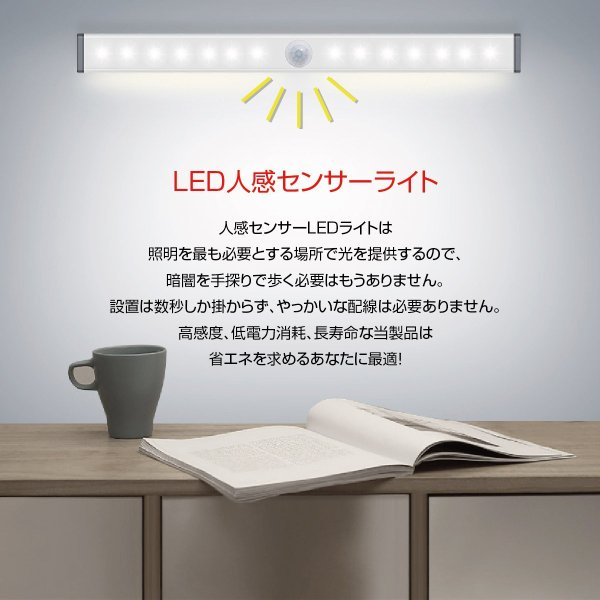 LEDライト 感知式 照明 人感 センサーライト ledセンサーライト 人感センサー ライト 屋外 室内 小型 玄関 クローゼット 廊下 senser-01 gochumon 03