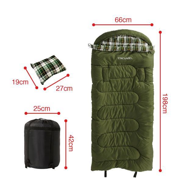 寝袋 洗える 手が出せる ねぶくろ 枕付き コンパクト キャンプ マット かわいい sleep-bag|gochumon|11