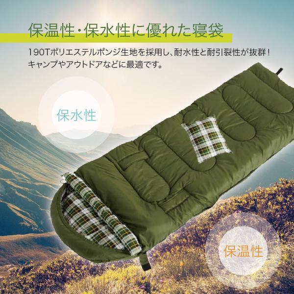 寝袋 洗える 手が出せる ねぶくろ 枕付き コンパクト キャンプ マット かわいい sleep-bag|gochumon|05