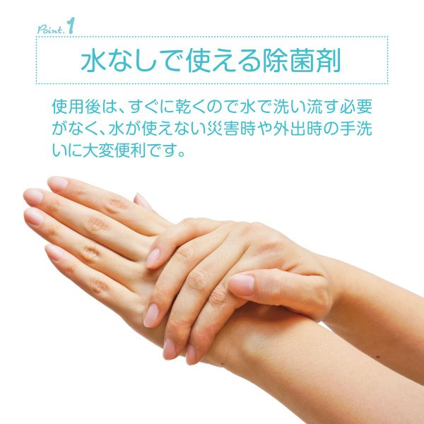 除菌 手 除菌剤 30ml 3本セット アルコール ウイルス対策 エタノール 75 純植物性 除菌消臭 スプレータイプ tearaikun-30|gochumon|04
