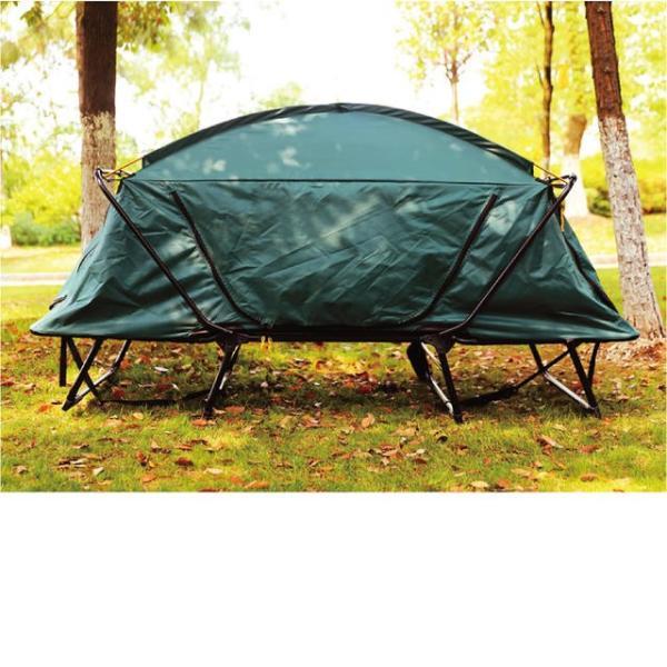 テント テントコット 2人用 折り畳み式 テントベッド ベッドシェルター コンパクトテントコット TENT COT 高床式 大型 海 キャンプ tent-cot-w|gochumon|08