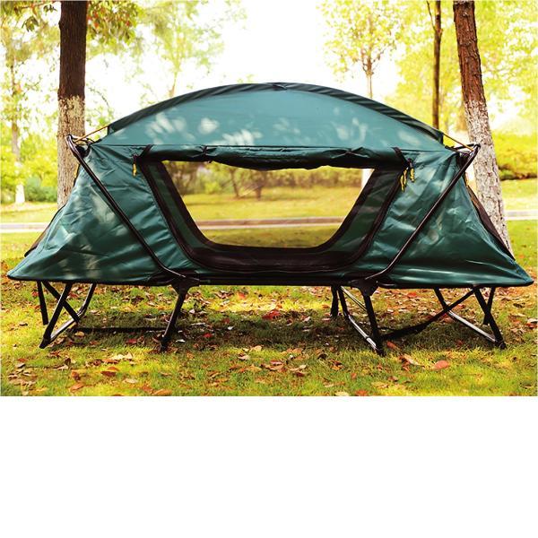 テント テントコット 2人用 折り畳み式 テントベッド ベッドシェルター コンパクトテントコット TENT COT 高床式 大型 海 キャンプ tent-cot-w|gochumon|09