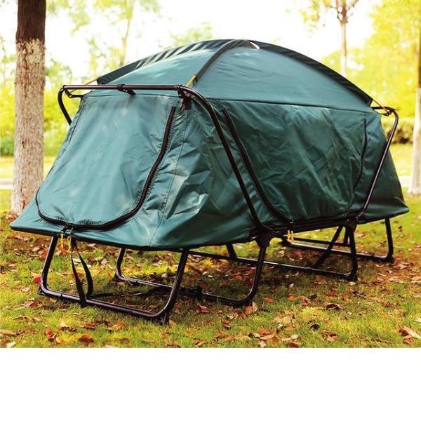 テント テントコット 2人用 折り畳み式 テントベッド ベッドシェルター コンパクトテントコット TENT COT 高床式 大型 海 キャンプ tent-cot-w|gochumon|10