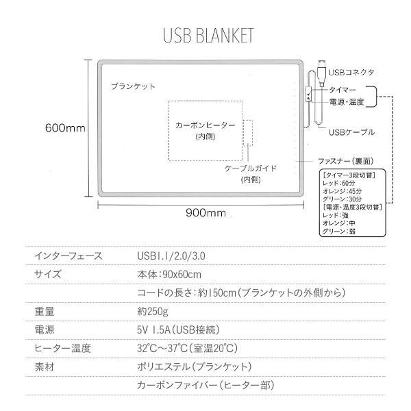 USBブランケット ブランケット usb ひざ掛け 暖房 電気ひざ掛け 電気毛布 毛布 電気ブランケット 洗える usb-blanket-cp|gochumon|20