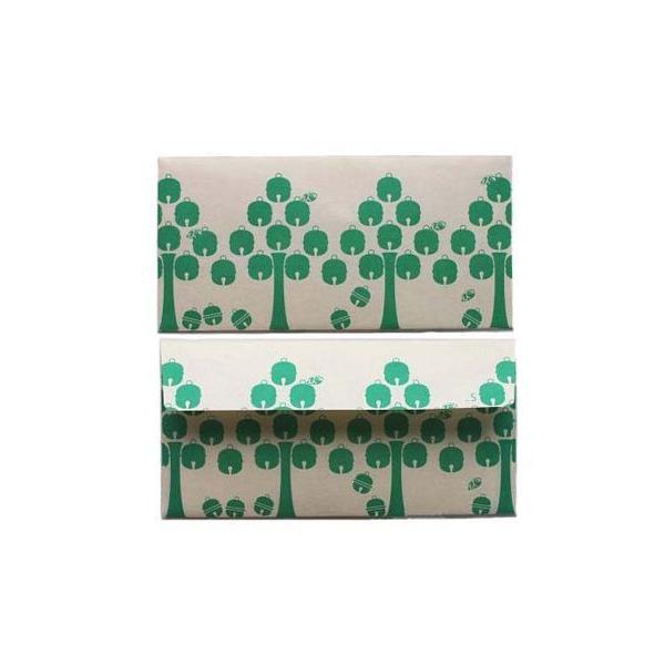 日本の心がこもる 越中八尾の和紙 桂樹舎 073 苗字封筒(3枚入り) スズキさん