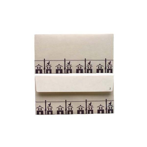 日本の心がこもる 越中八尾の和紙 桂樹舎 073 苗字封筒(3枚入り) 高橋さん