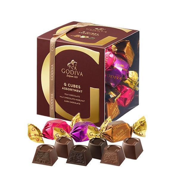 お中元 サマーギフト お返し お祝い チョコレート G キューブ アソート MDH 9粒入