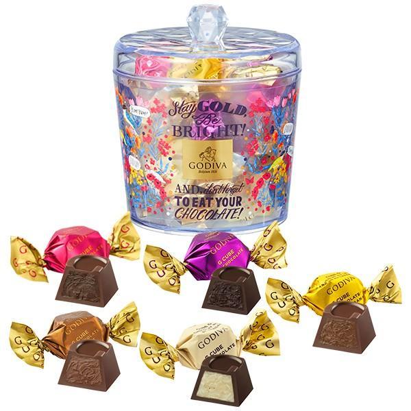 お中元 サマーギフト お返し お祝い チョコレート コレクションソレイユ G キューブ アソートメント 12粒入