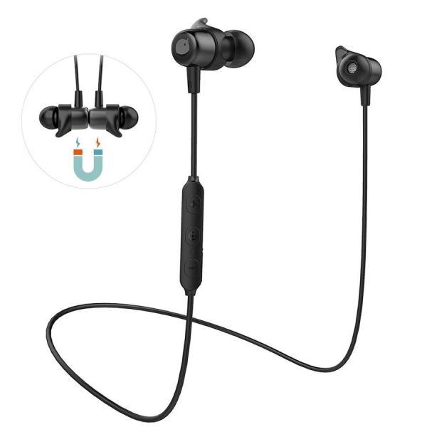 ワイヤレスイヤホン Bluetooth 5.0 イヤホン 両耳 高音質 スポーツ ブルートゥース カナル型 ステレオ 1年保証 CVC6.0ノイズキャンセリング 通話 ワイヤレス|goen-yahuu-ten|02