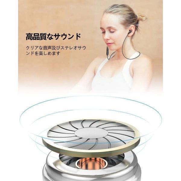 ワイヤレスイヤホン Bluetooth 5.0 イヤホン 両耳 高音質 スポーツ ブルートゥース カナル型 ステレオ 1年保証 CVC6.0ノイズキャンセリング 通話 ワイヤレス|goen-yahuu-ten|12