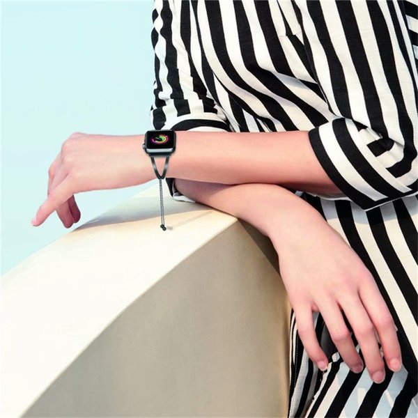 アップルウォッチ バンド Apple Watch ベルト  優雅 豪華 光沢 替えベルト プレゼント 女子向け 可愛い   Series1/2/3/4対応  バンド|goen-yahuu-ten|10