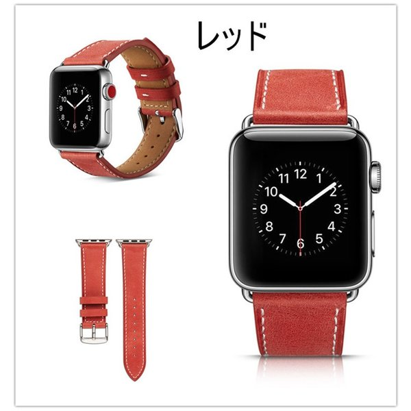 アップルウォッチ バンド apple watch series4 40mm 44mmseries3 series2 series1 42mm 38mm Apple Watch バンド レザー 高品質|goen-yahuu-ten|04