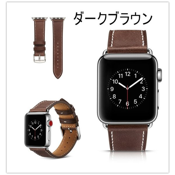 アップルウォッチ バンド apple watch series4 40mm 44mmseries3 series2 series1 42mm 38mm Apple Watch バンド レザー 高品質|goen-yahuu-ten|06