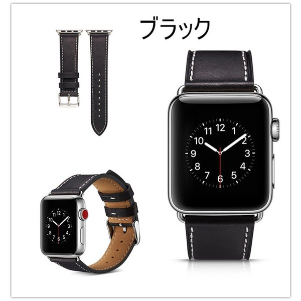 アップルウォッチ バンド apple watch series4 40mm 44mmseries3 series2 series1 42mm 38mm Apple Watch バンド レザー 高品質|goen-yahuu-ten|07
