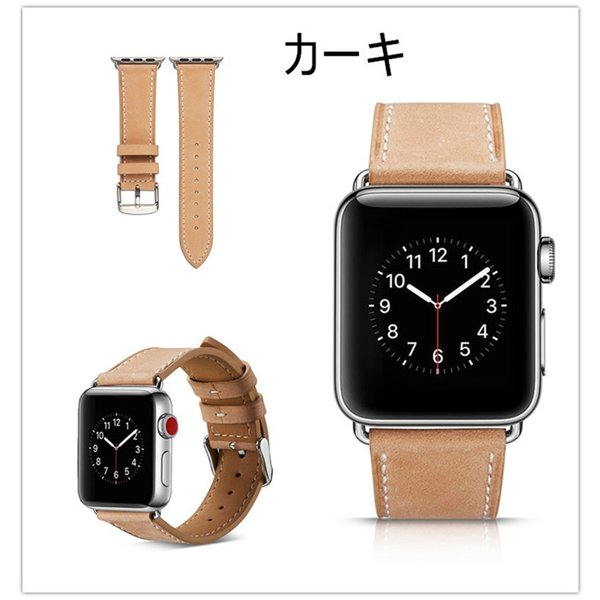 アップルウォッチ バンド apple watch series4 40mm 44mmseries3 series2 series1 42mm 38mm Apple Watch バンド レザー 高品質|goen-yahuu-ten|08