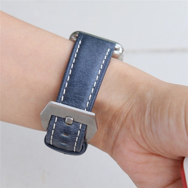 Apple Watch バンド 38mm 42mm アップルウォッチ ベルト 本革 iwatch ベルト 38mm 42mm バンド 交換用バンド|goen-yahuu-ten|08